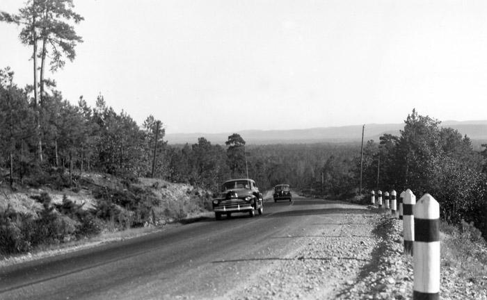 Ouachita Mountains Road