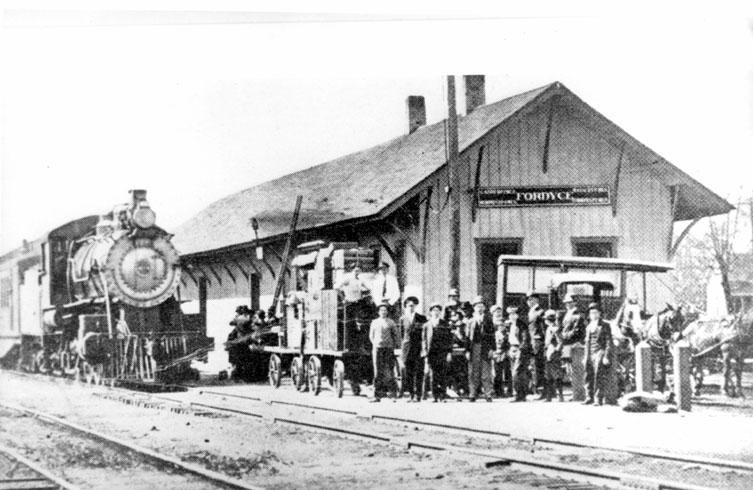 Fordyce: Train Depot