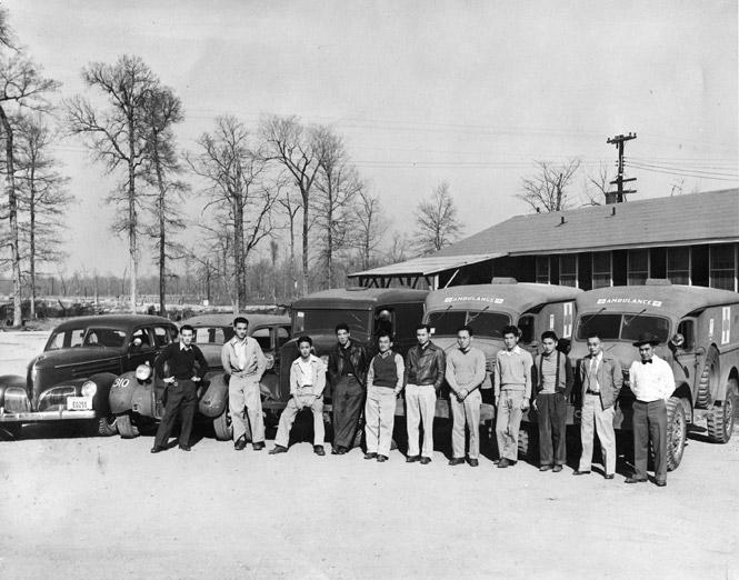 Jerome Relocation Center Hospital Crew