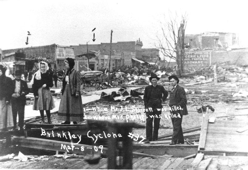 Brinkley: Cyclone Damage