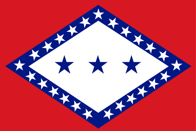 Arkansas State Flag, Original Design