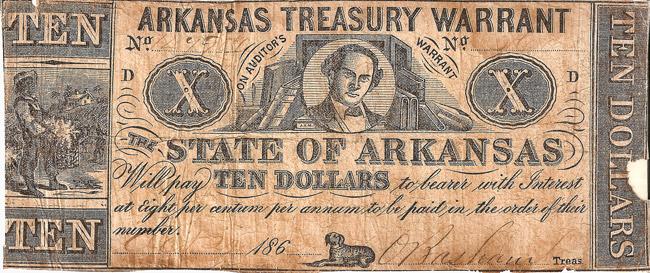 Arkansas Civil War Currency