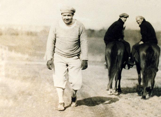 Babe Ruth at Oaklawn Park