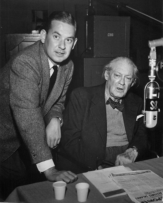 Bill Froug and Lionel Barrymore