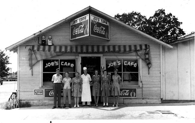 Benton: Cafe