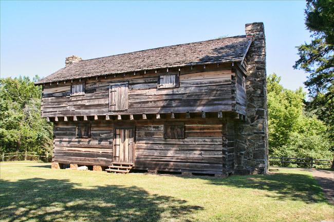 Cadron Settlement: Cadron Blockhouse