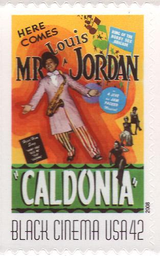 Louis Jordan Caldonia Stamp