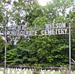 Camp Nelson Confederate Cemetery Entrance