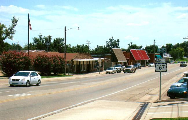 Cave City Street Scene