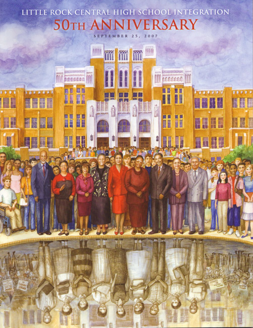 Central High School Desegregation Commemorative Book