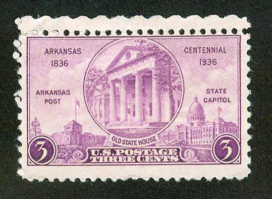Arkansas Centennial Stamp
