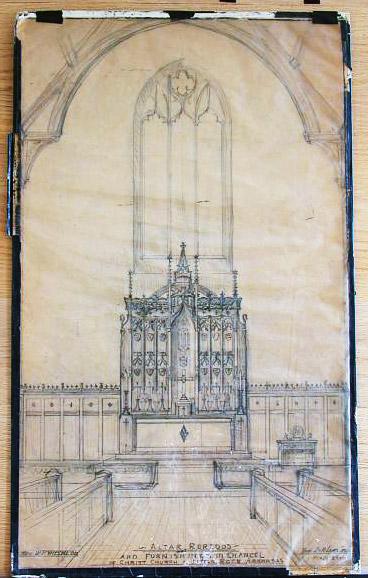 Little Rock: Episcopal Church Chancel Drawing