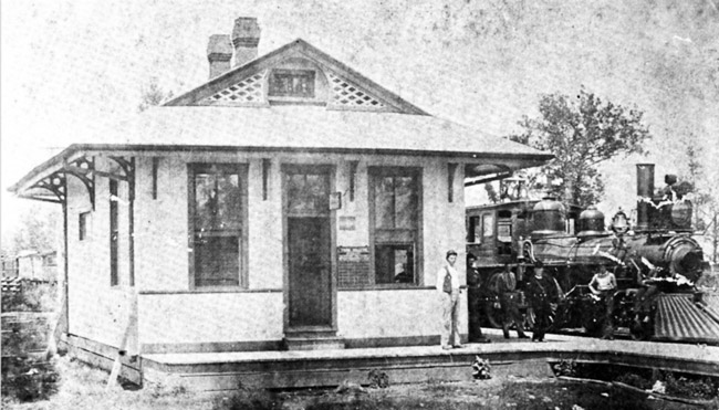 Cherry Valley: Train Depot