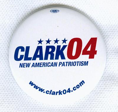 Wesley Clark: Campaign Button
