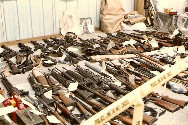 CSA Weapons Seizure