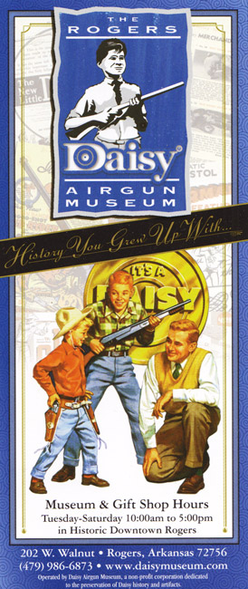 Daisy Airgun Museum Brochure