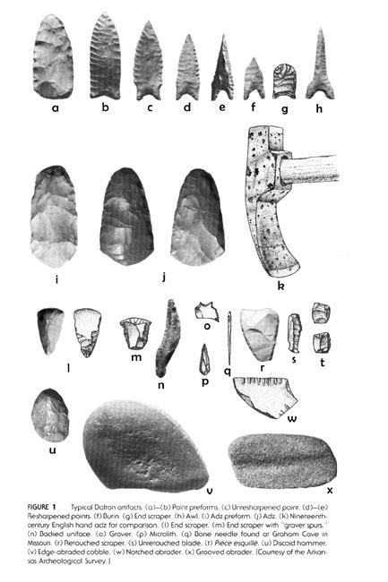 Dalton Period Artifacts