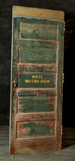 Segregated Waiting Room Door