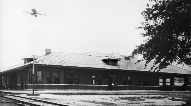 Dermott: Railroad Depot