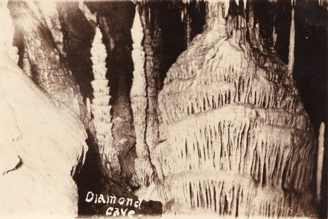 Diamond Cave Postcard