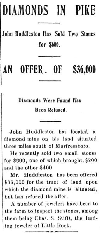 Diamond Discovery Announcement