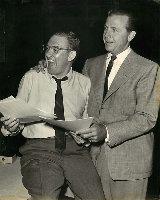 Bill Froug and Dick Powell