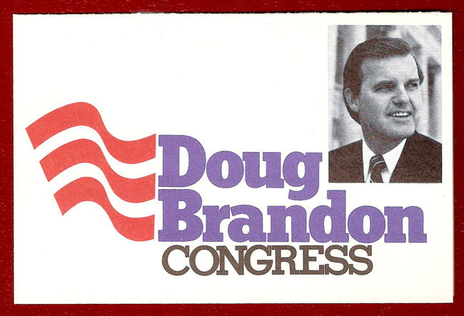 Doug Brandon Campaign Card