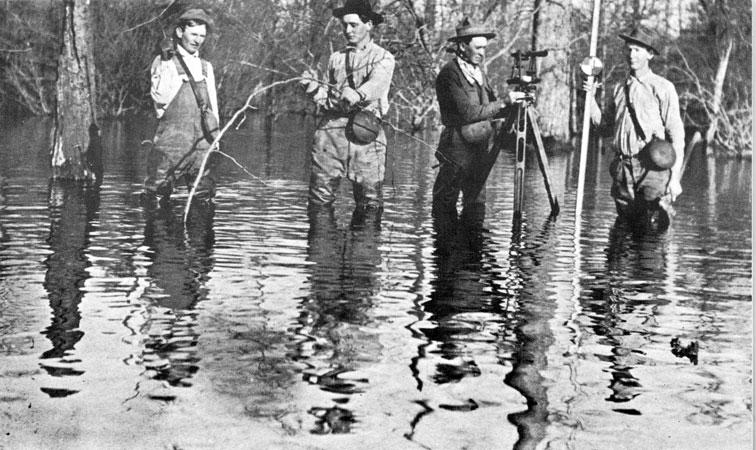 Drainage Survey Crew