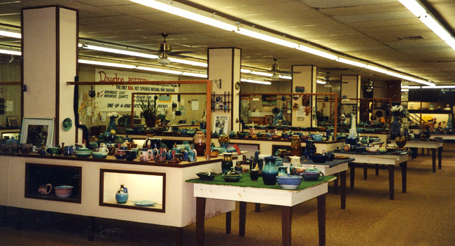 Dryden Pottery Showroom