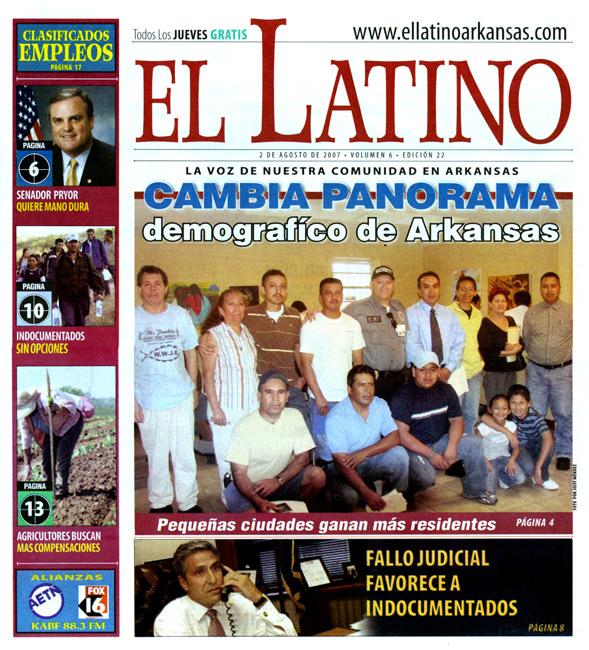 Spanish-language Newspaper El Latino