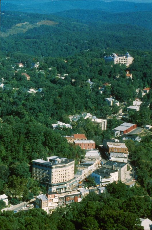 Eureka Springs: Aerial View