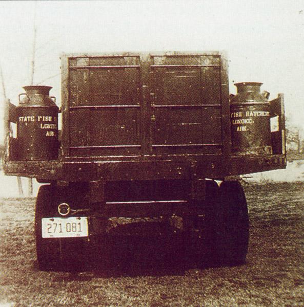Joe Hogan Fish Hatchery Truck