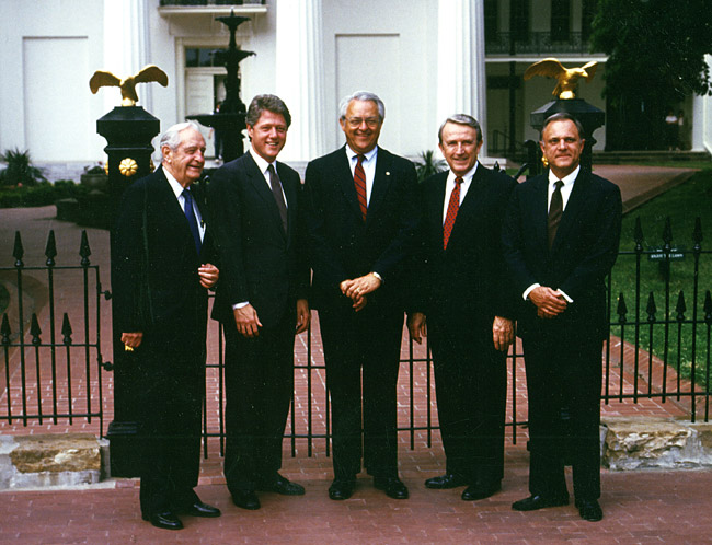 Five Arkansas Governors