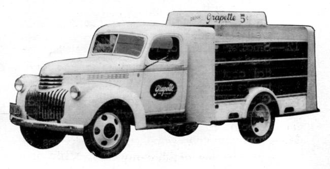 Grapette Delivery Truck