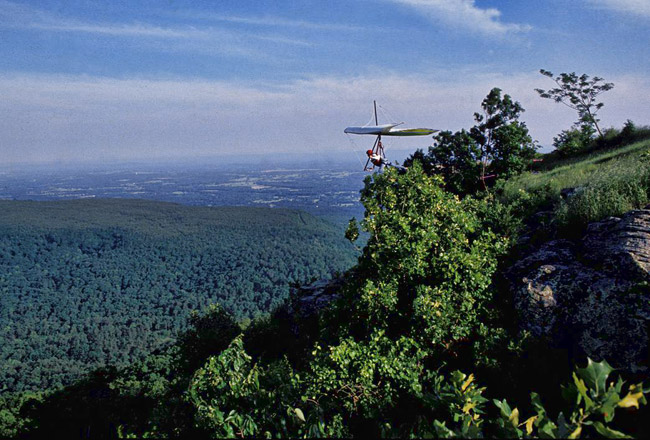 Mount Nebo State Park: Hang Gliding
