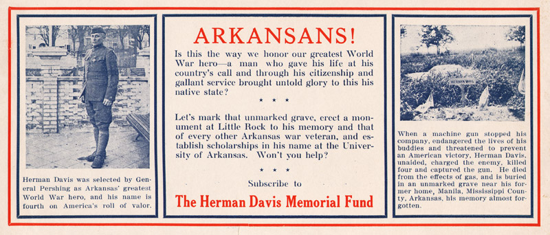 Herman Davis Memorial Flyer