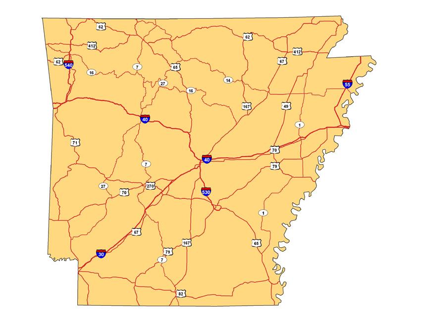 Arkansas Highways, 2005