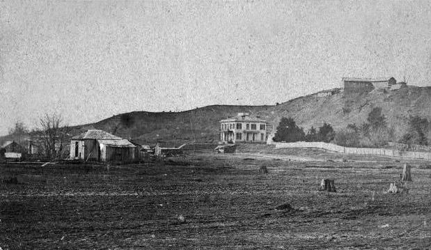 Thomas Hindman's Residence