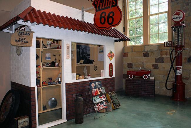 Old Independence Regional Museum Exhibit