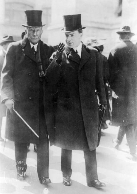 John D. Rockefeller and John D. Rockefeller Jr.
