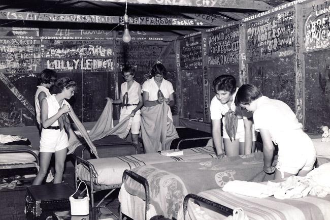 Camp Joyzelle Cabin Interior