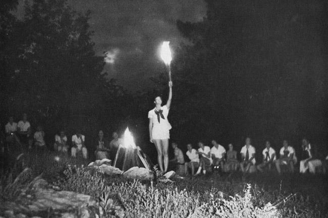 Friendship Campfire Circle; 1950s