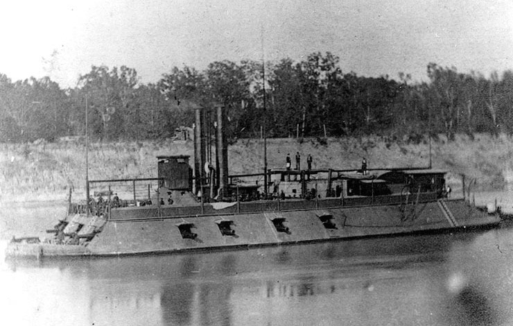 USS Mound City