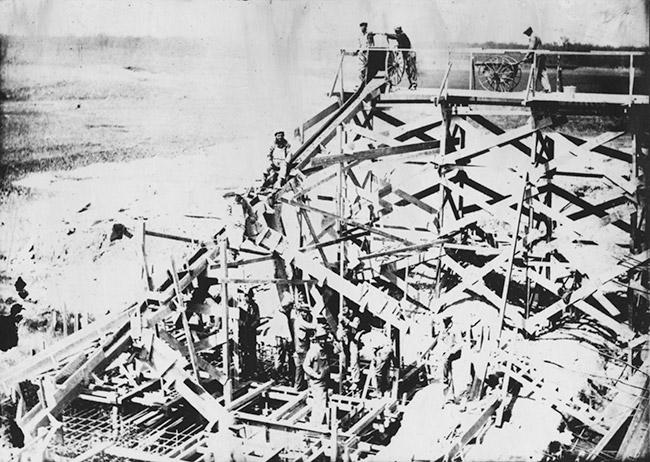 Narrows Dam Construction