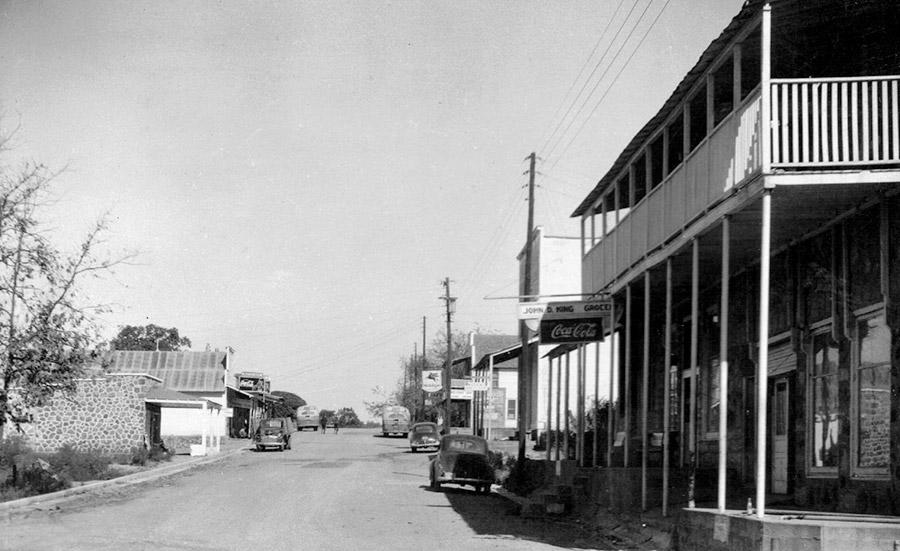 Norfork Main Street
