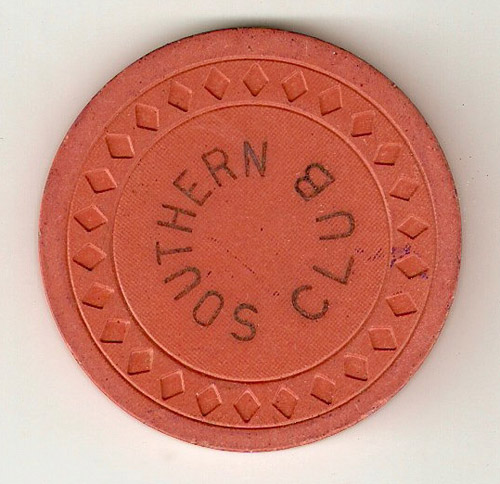 Southern Club Poker Chip
