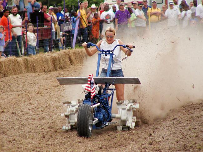 Emerson: PurpleHull Pea Festival Tiller Race