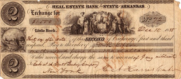 Arkansas Real Estate Bank Draft