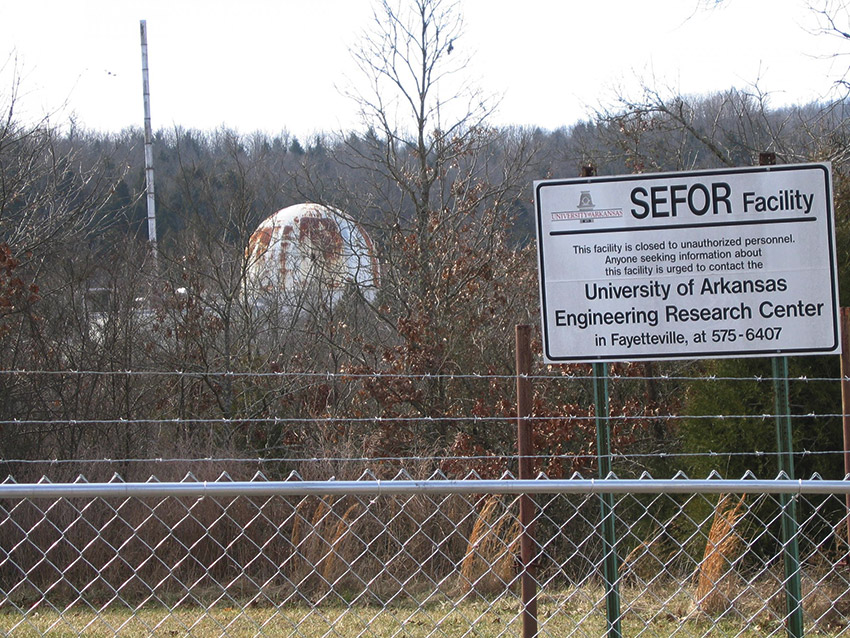 SEFOR Site