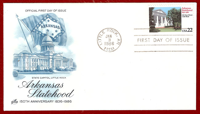 Sesquicentennial Celebration: First Day Cover Envelope